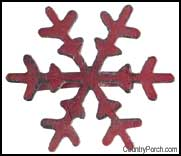 Crimson snowflake
