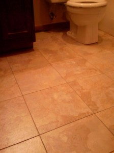 Bathroom floor 2