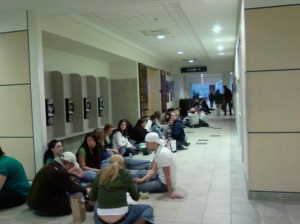 Small part of line