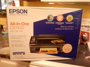 and a new printer/scanner/copier